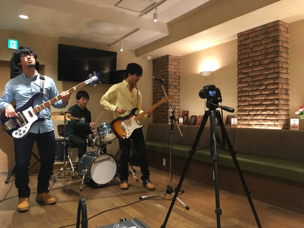 バンドプロモーションビデオ撮影