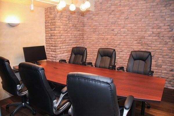 商談がうまくいく会議室