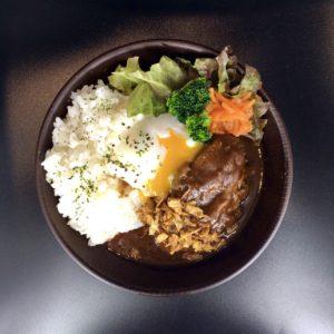 ロコモコ丼 ロジカフェ 阿波黒牛